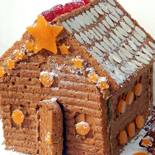 Vegetable Gingerbread House Recipes