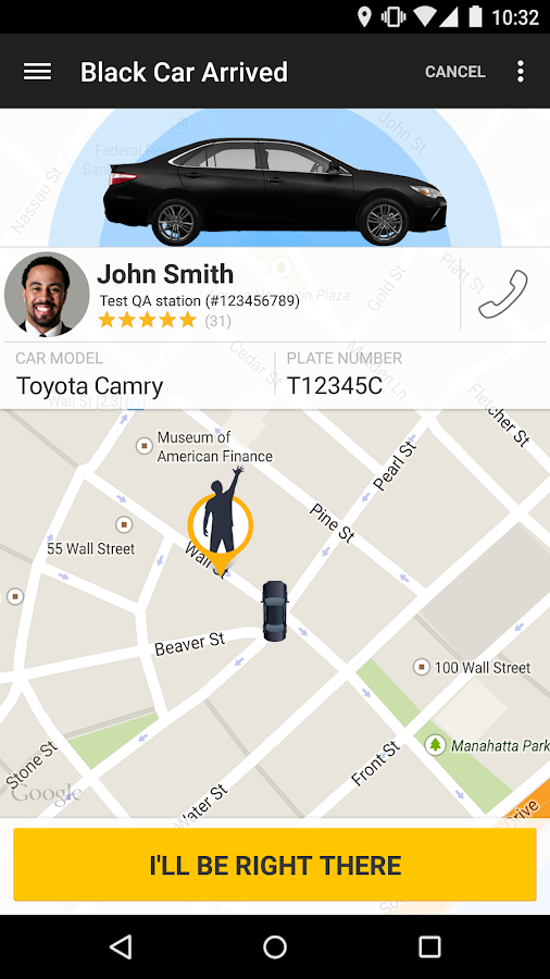 Gett Black Car & Taxi Service - screenshot