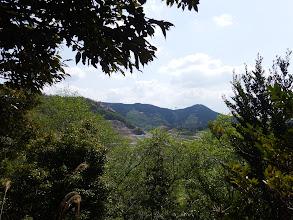 観音山(右)