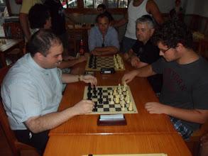 Photo: Torneo de partidas rápidas en la Chacona. La gran final