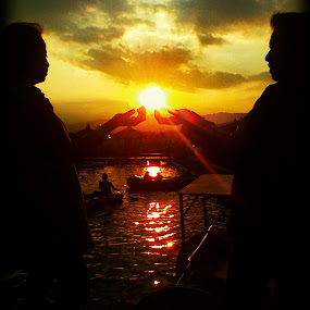 Romantic Sunset by Zen Syarif Abidin - Instagram & Mobile Android