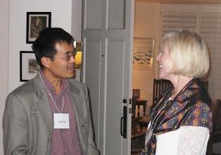 Photo: PROFESSOR JACK XIN AND LILLIAN SAARI