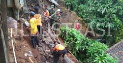 Daerah rawan longsor di kabupaten Ngawi