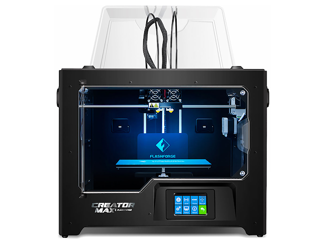 FlashForge Creator MAX Dual Extrusion 3D Printer