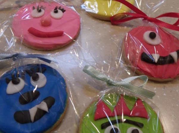 Yo Gabba Gabba Cookies Recipe