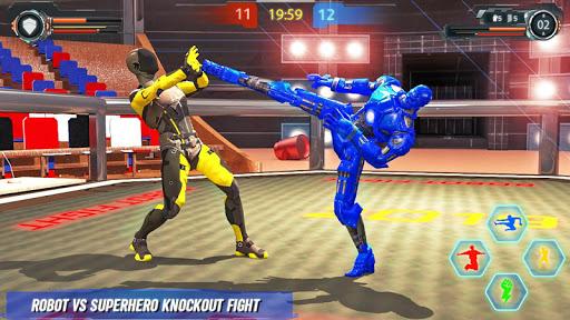 Real Robot fighting games u2013 Robot Ring battle 2019 apktram screenshots 2