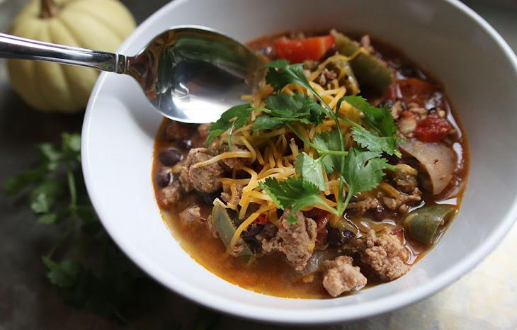Turkey Black Bean Chili Recipe   Yummly