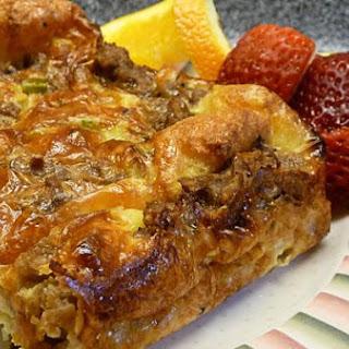 Savory Breakfast Casserole.