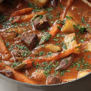 Beef Brisket And Potato Hotpot