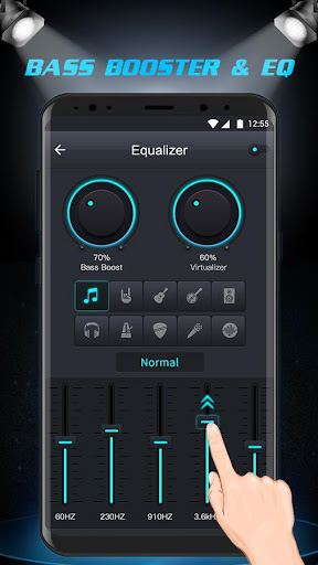 Free Music Player - Equalizer & Bass Booster 1.3 screenshots 2