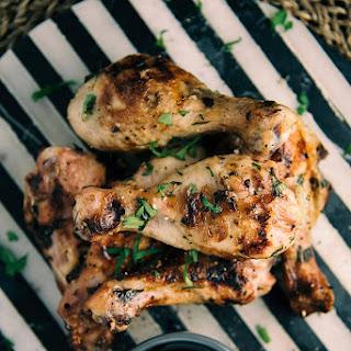 Buttermilk-Garlic Roast Chicken.