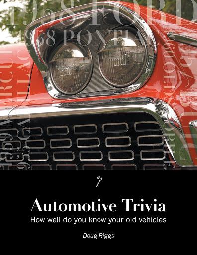 Automotive Trivia cover