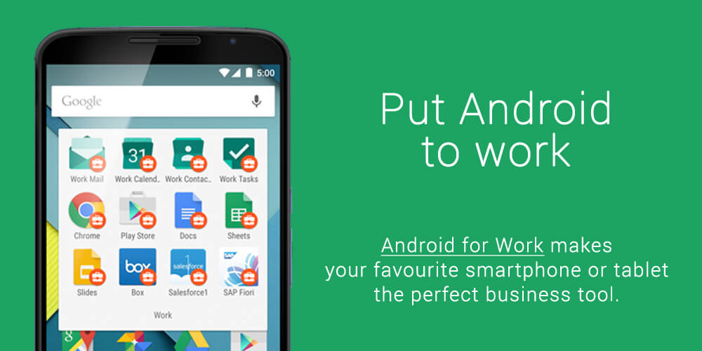 What is Android for Work | Mobile device management | MDM