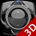 Next Launcher Theme glas black icon
