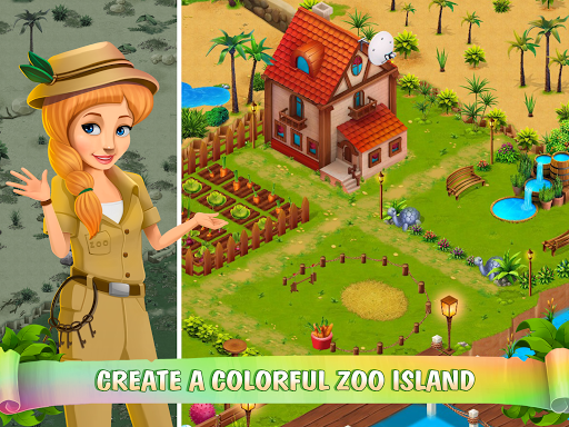 Zoo Island: Exotic Garden - screenshot