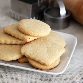 Soft Sugar Cookies with Sour Cream.