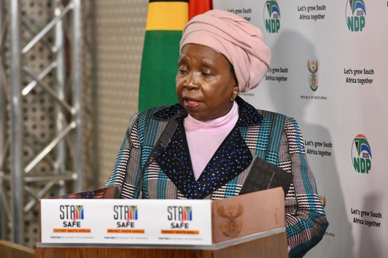 Alert us if Covid-19 cases rise in your home town during level 1: Nkosazana Dlamini-Zuma