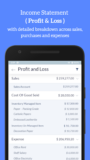 Accounting Bookkeeping - Invoice Expense Inventory 1.75 screenshots 3