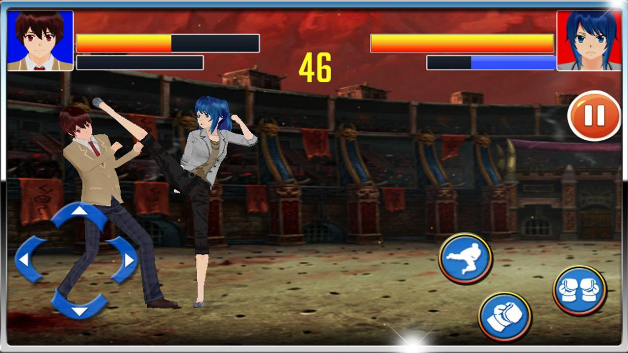 Bruce Lee Street Fight- screenshot