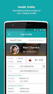 JioHealthHub: Access Tests, Doctors & Reports- screenshot thumbnail