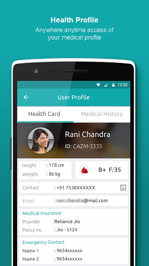 JioHealthHub: Access Tests, Doctors & Reports- screenshot