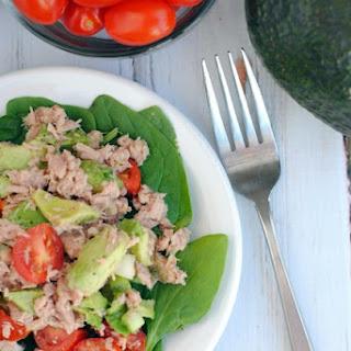Tuna Avocado Salad #Recipe.