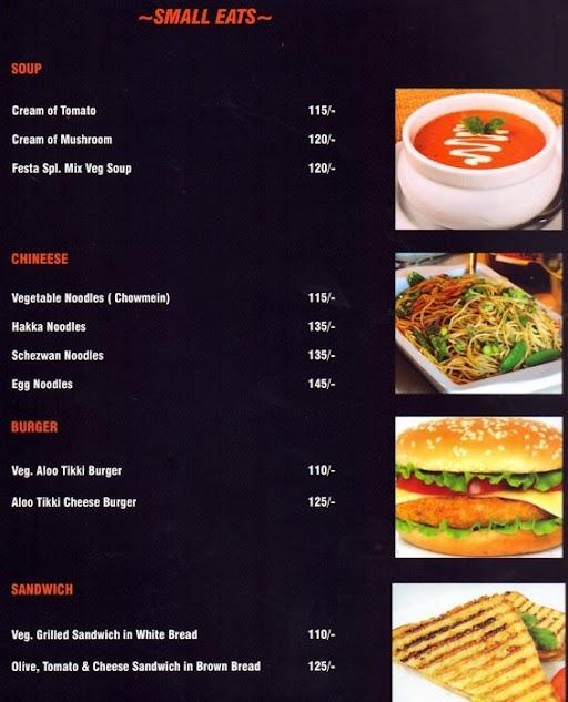 Cafe Festa menu 6