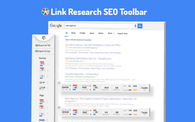 Link Research SEO Toolbar - affordable seo services