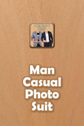 Man Casual Suit