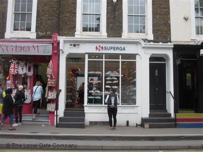 höstskor webbplats för rabatt träffa Superga on Pembridge Road - Shoe Shops in Notting Hill, London W11 3HG