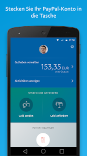 PayPal – Miniaturansicht des Screenshots