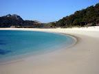 Playa de Rodas en las Islas Cies