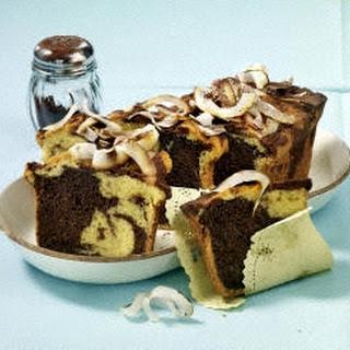 Marmorkuchen mit Kokosmilch (Diabetiker)
