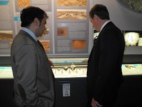 Photo: Yves JEAN Président de l'Université de Poitiers et le Pr Abderrazak EL ALBANI.