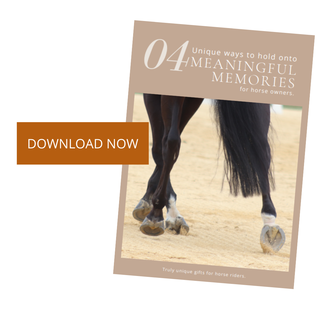 4 Unique Ways to Hold onto Meaningful Memories for Horse Owners
