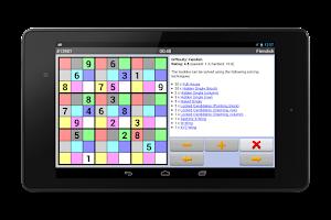 Screenshot of Sudoku 10'000 Plus