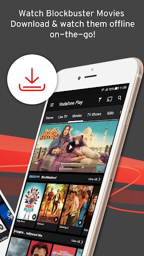 Vodafone Play Live TV Movies TV Shows News 1.0.45 screenshots 3