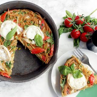 Italian Leftover Spaghetti Frittata