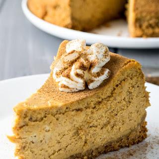 Classic Pumpkin Spice Cheesecake