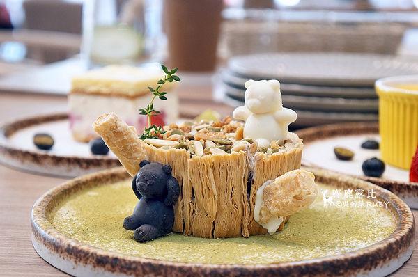 視覺系蔬食 SUFOOD 舒果概念 蜜桃、芒果酸甜涼一夏、小熊糕點顏值爆表