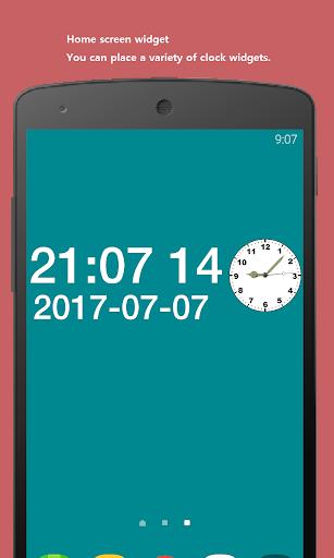 Date seconds Widget 2.16 screenshots 1