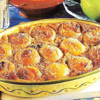 Gratin Of Fruits With Gingerbread.