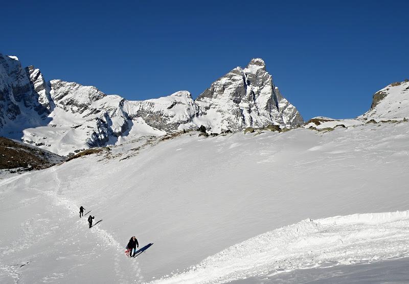 Al cospetto di sua Maestà Matterhorn di Rodema