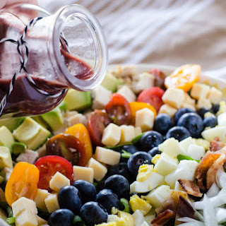 Blueberry Cobb Salad with Blueberry Balsamic Vinaigrette