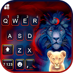 Wild Lion Keyboard Background icon