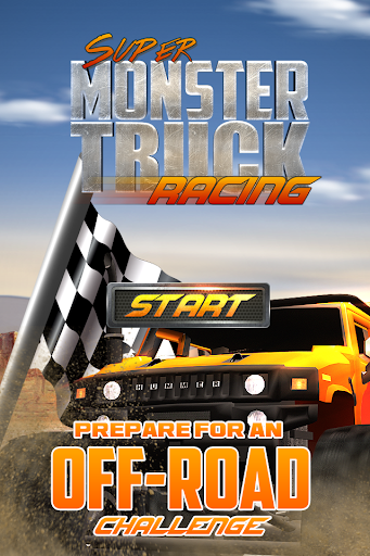 Super Monster Truck Race