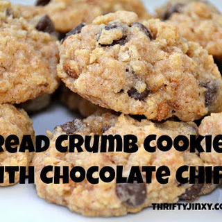 Bread Crumb Cookies.