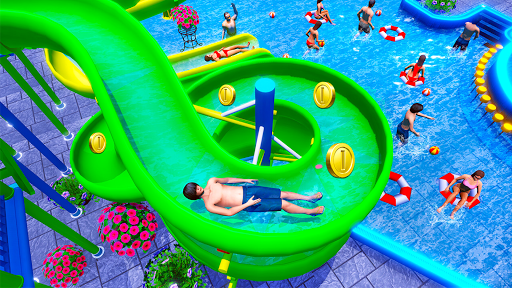 Water Sliding Adventure Park - Water Slide Games android2mod screenshots 13
