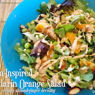 Asian-Inspired Mandarin Orange Salad.