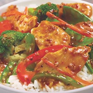 Sesame Chicken Stir-Fry.